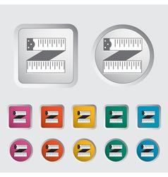 Centimeter icon vector