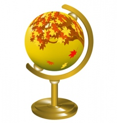 Globe object vector