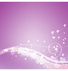 Abstract soft orchid background vector