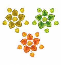 Leaves design vector