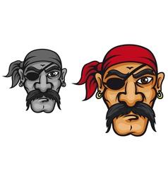 Old danger corsair captain vector