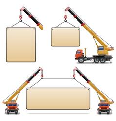 Construction machines set 6 vector