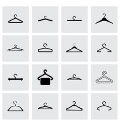 Hanger icon set vector