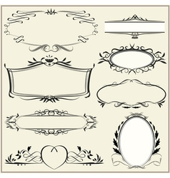 Ornamental and page decoration elements vector