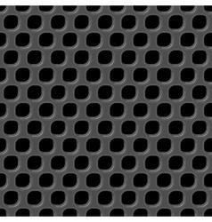 Metal grid seamless pattern vector