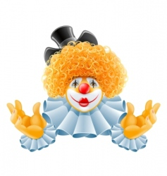 Cartoon clown vector