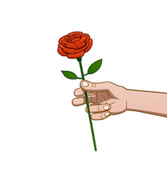 Giving a rose vector