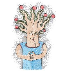 Intellectual product concept tree of life idea vector