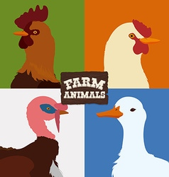 Farm animal design vector