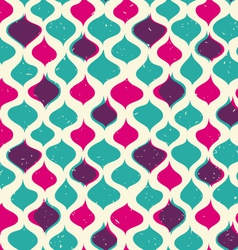 Vintage seamless pattern hipsters vector