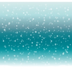Abstract winter background with snow vector