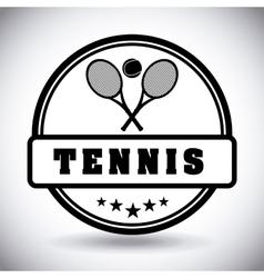 Tennis sport vector