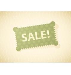Sales green vector