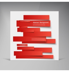 Design abstract lines brochure card vector