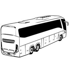 Long-distance bus vector