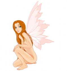 Fairy nude vector