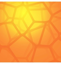 Abstract background with cells vector