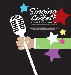 Singing contest vector