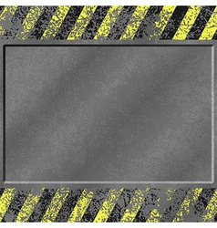 Grunge metal background vector
