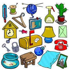 Cartoonish objects vol 1 vector