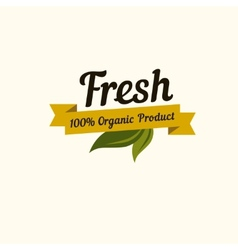 Set of badges and labels elements for organic vector