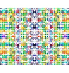 Abstract background consisting of squares vector