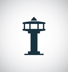 Control tower icon vector