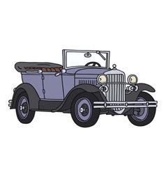 Vintage cabriolet vector