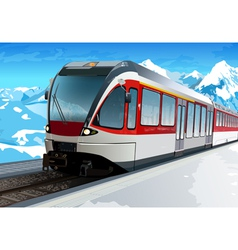 Railway station vector