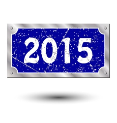 Sign new year vector