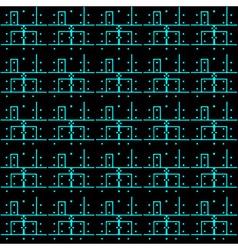 Printed circuit board pattern eps10 vector