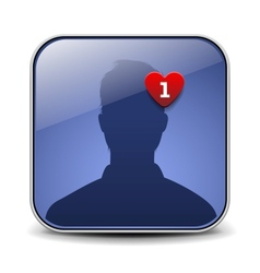 User avatar icon vector