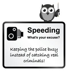 Speeding vector