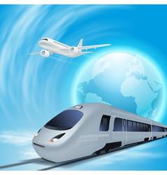 Concept travel vector