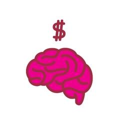 Brain 00004 vector