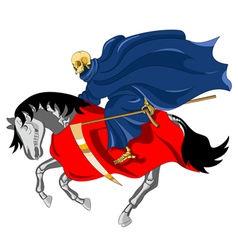Equestrian of the apocalypse death vector
