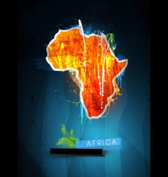 Africa poster vector