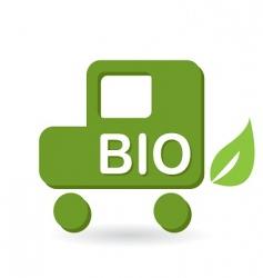 Bio icon vector