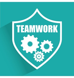 Teamwork design vector