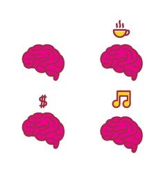 Brain 00006 vector