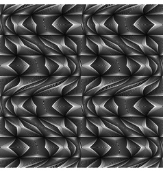 Design seamless monochrome movement pattern vector