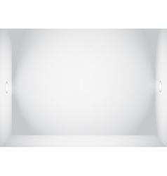 Empty wall vector
