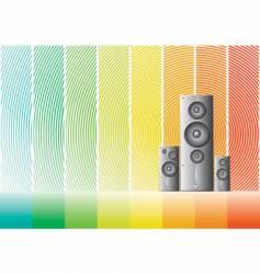 Speaker 4 design vector