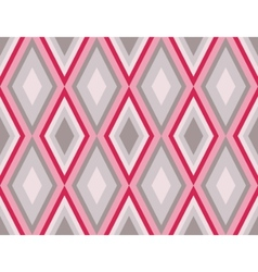 Retro diamonds pattern vector