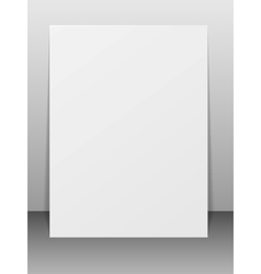 Blank greeting card vector