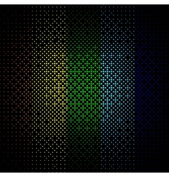 Abstract colored background on black vector
