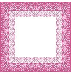 Tablecloth border pattern vector
