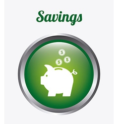 Save money design vector