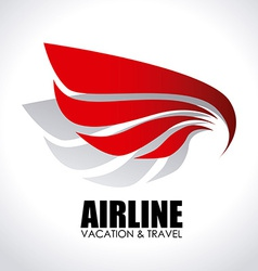 Airline design vector
