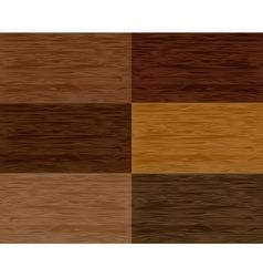 Set wood seamless patterns vector